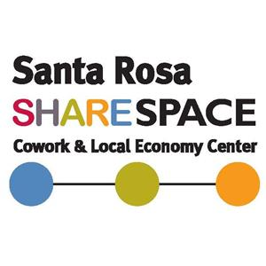 Logo of Share Space, Cowork & Local Economy Center, Santa Rosa