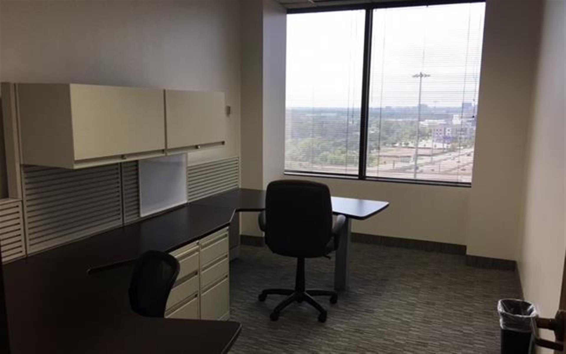 Golden Falls Properties, LP - Window Office - Downtown Dallas Views