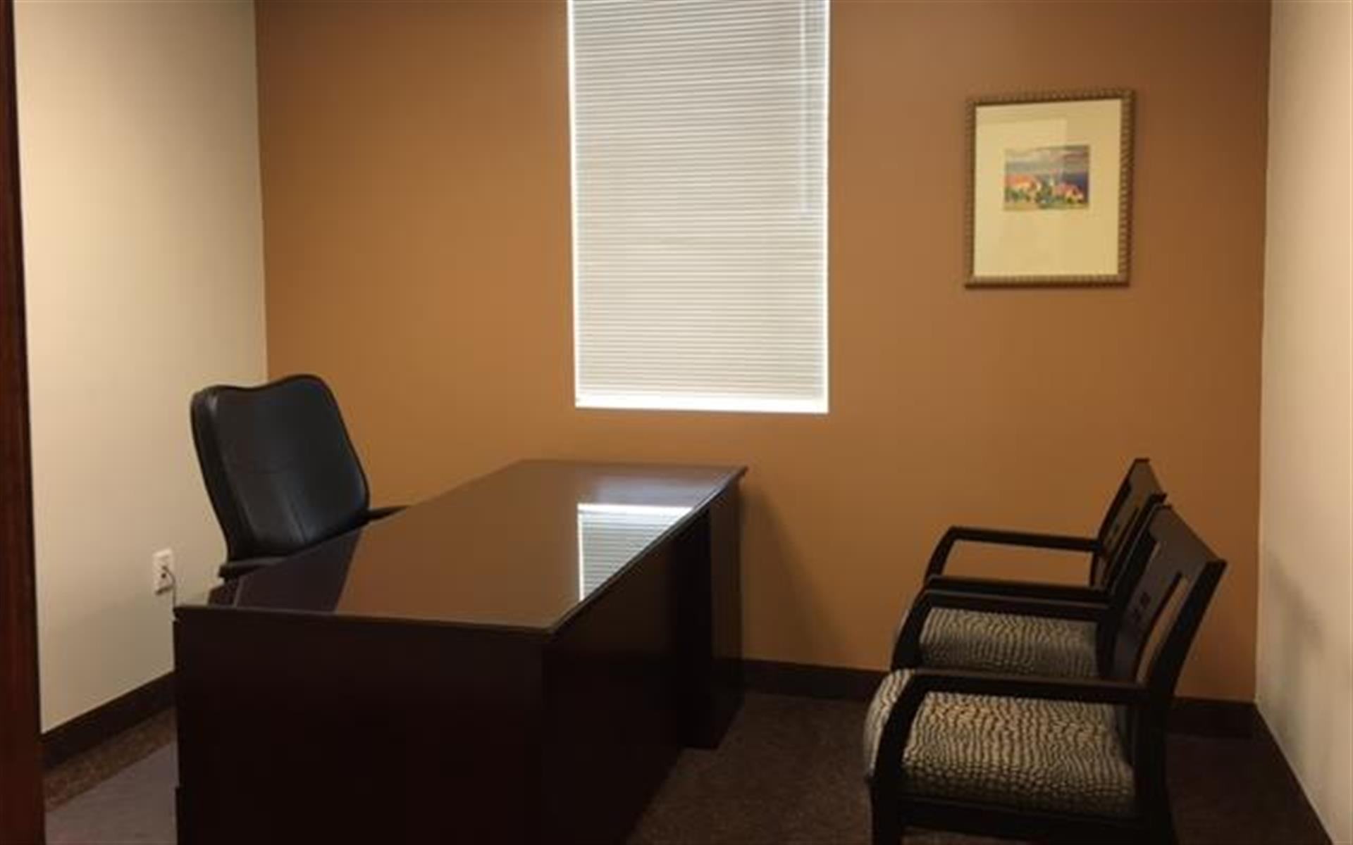 First Choice Executive Suites - Bright  airy office w/2 guest chairs