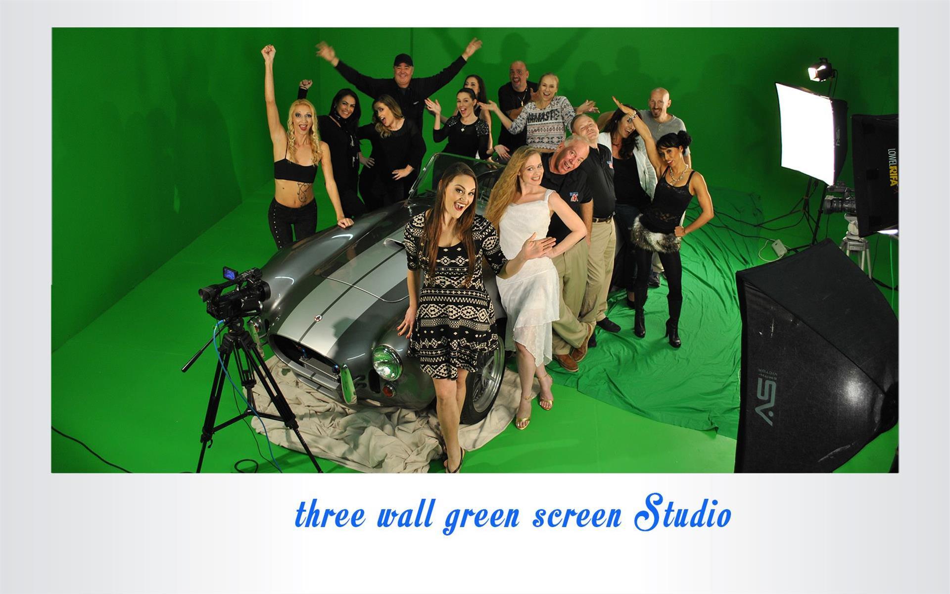 Suite 4K Studios - Green Screen Studio 1