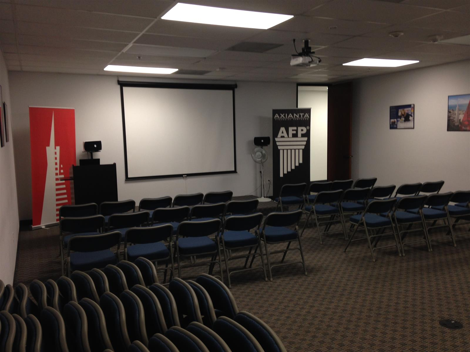 AFP Pasadena - Large Training Room