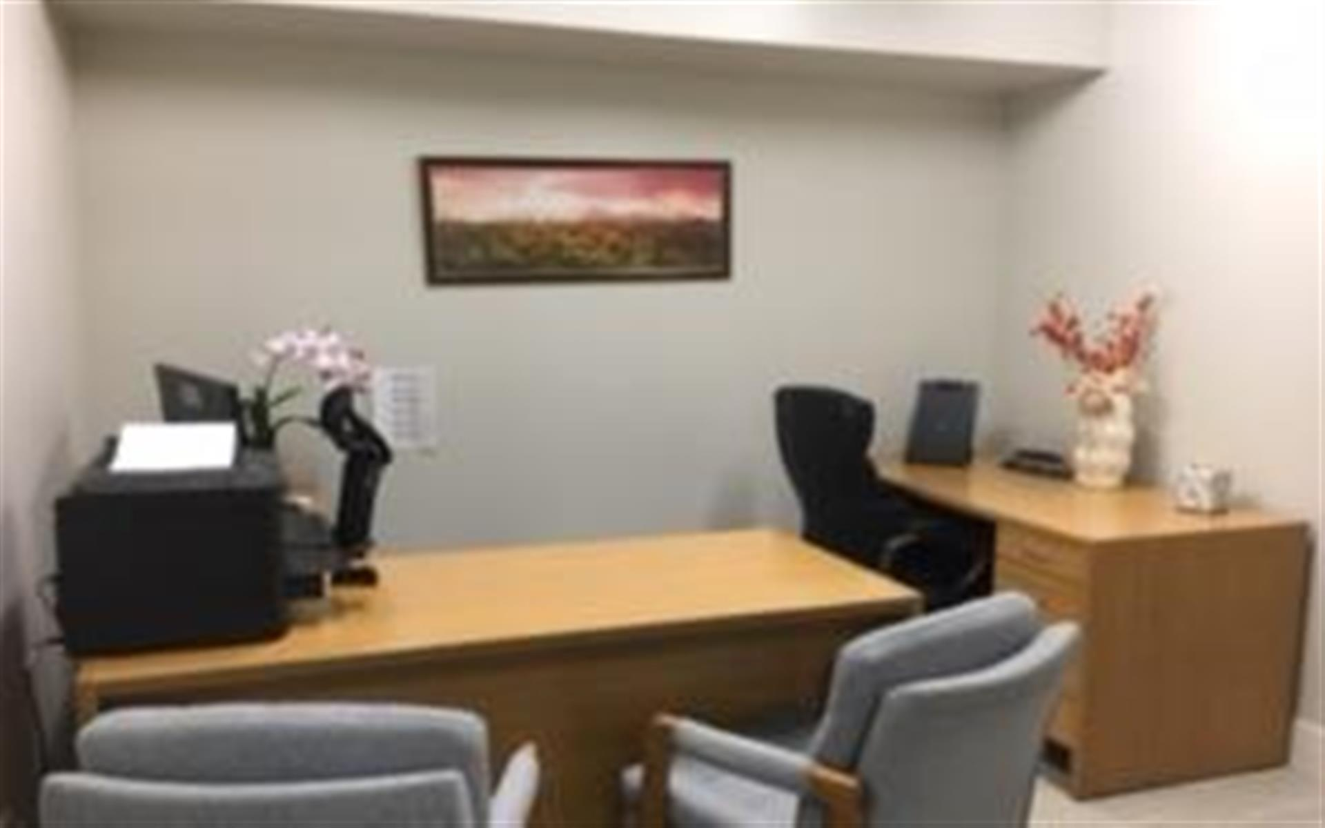 Professional Medical Careers Institute (PMCI) - Office for 2 meeting space for up to 5
