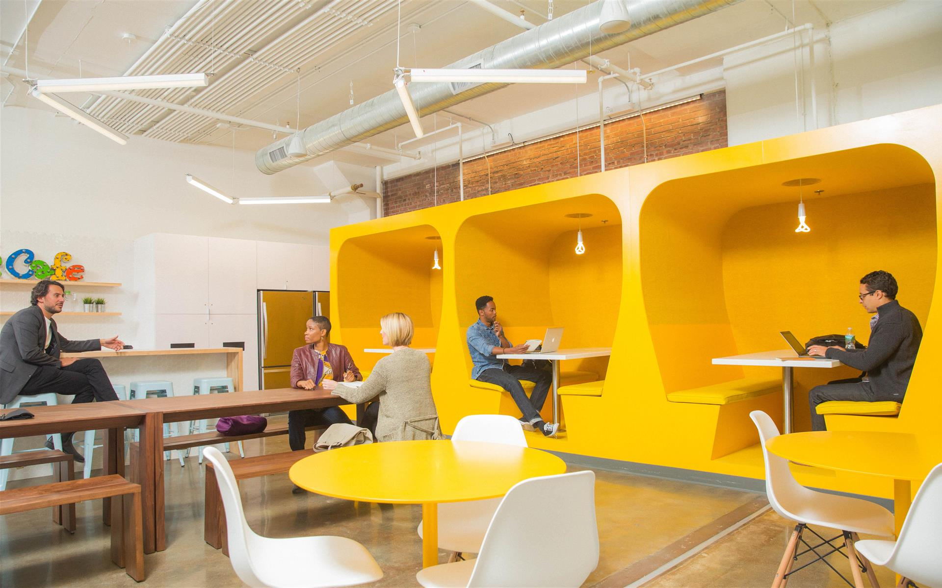 Coworking at Kearny Point - Hot Desks at Kearny Point