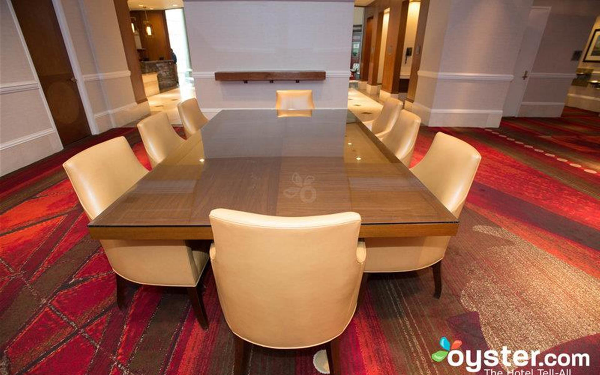 Omni Providence Hotel - Lobby Conference Table