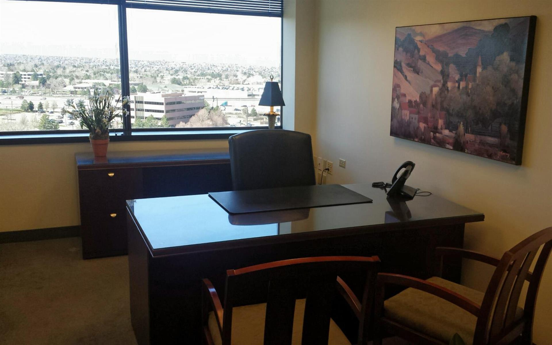 Executive Business Centers - DTC - Exterior Office with Amazing Views!
