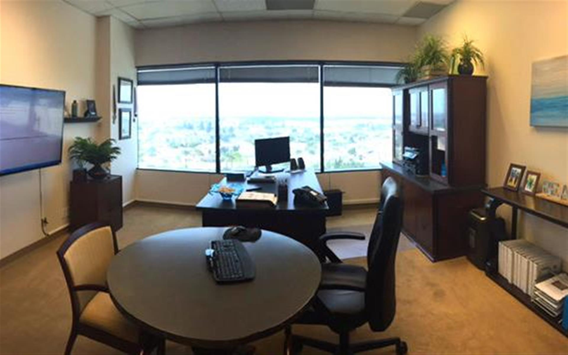 (HBP) Huntington Beach Plaza - 2-office Suite