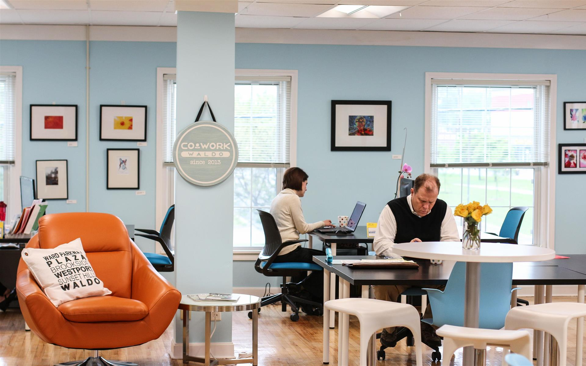 Cowork Waldo - Flex Desk Part-Time