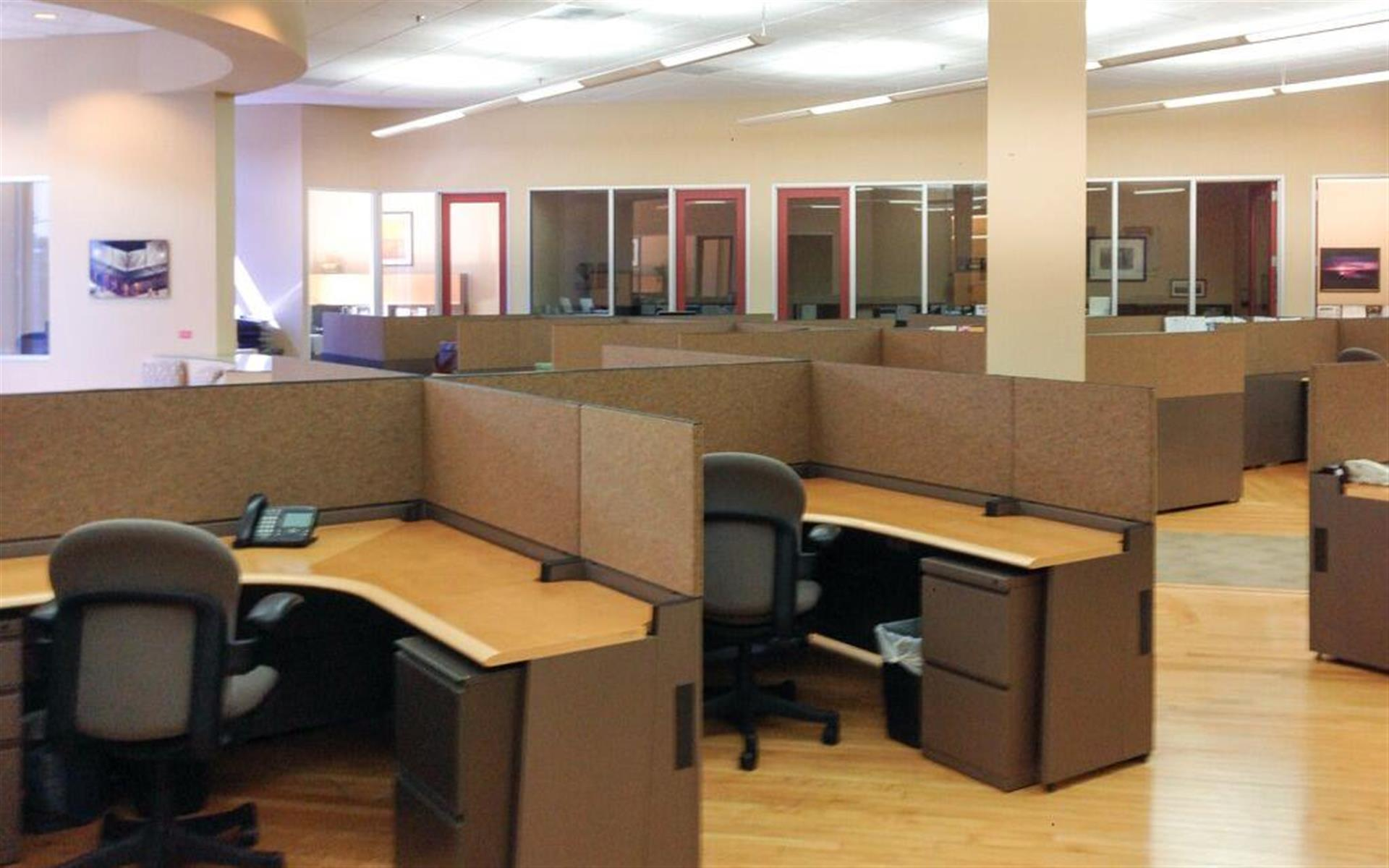 Sebastiani Theatre Building Workspace - Work Stations