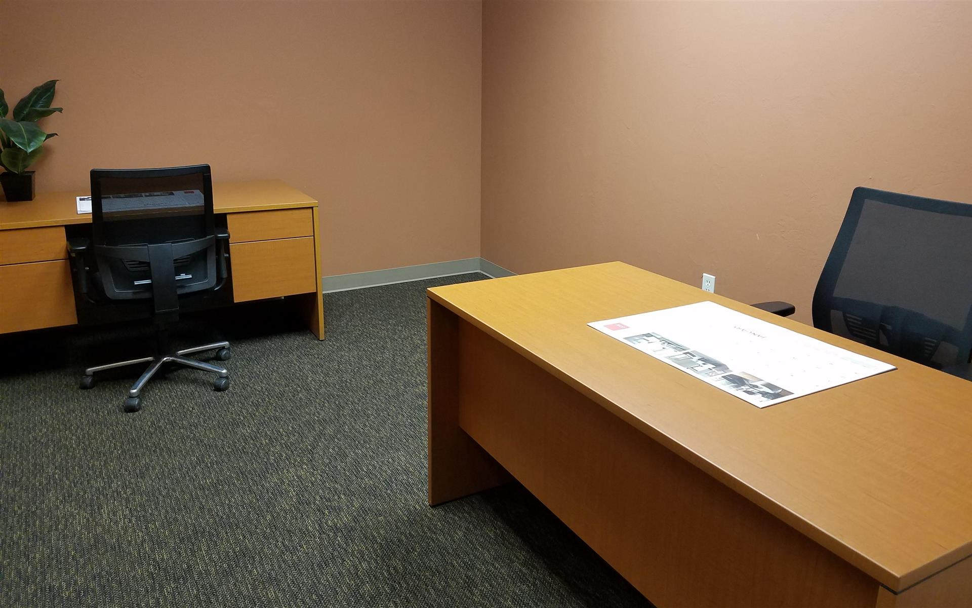 Union Plaza Business Center - Office #230-Interior Office for  One/Two