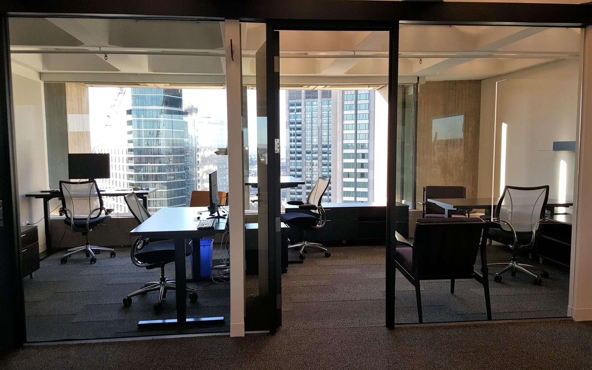 Business District - Office Suite for 3 with Stunning Views
