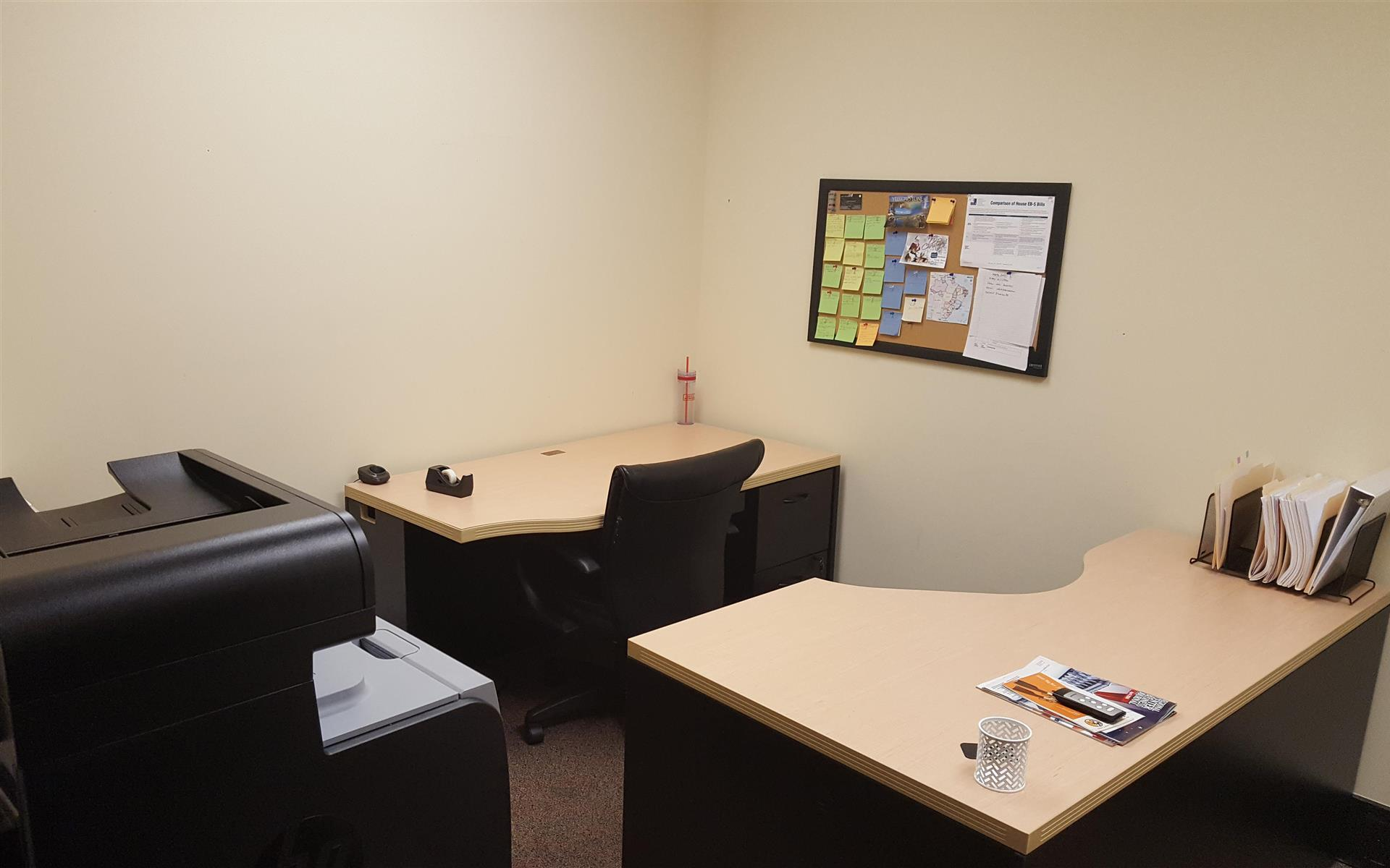 Gate Industries, LLC - Private office, plenty of counter space