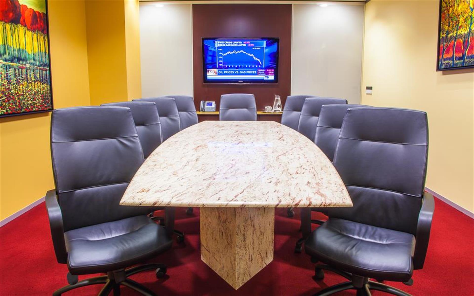 Servcorp - San Francisco 101 California Street - Executive Boardroom 10 people