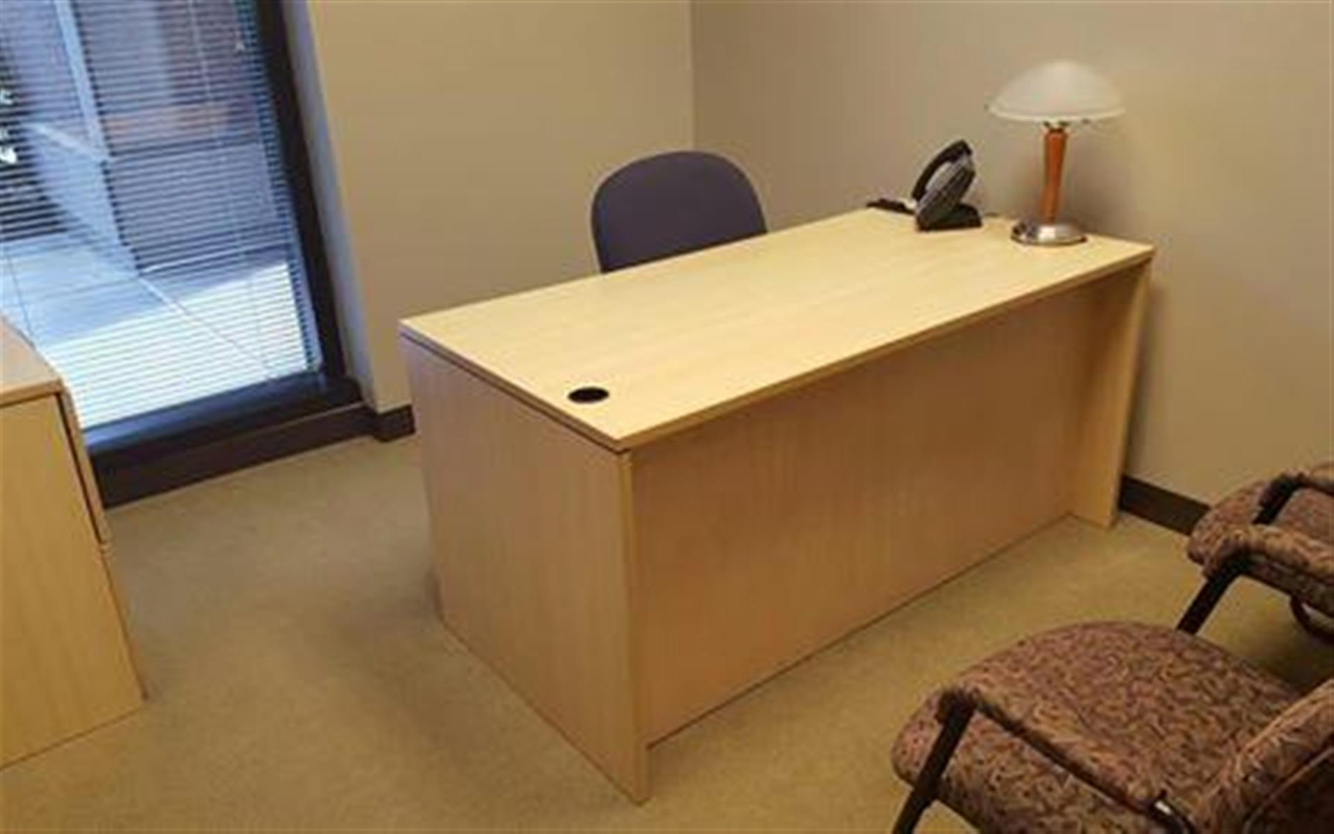 Intelligent Office - Roswell - Executive Office with Window