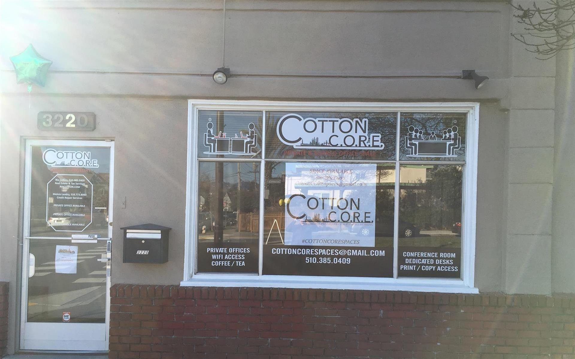 Cotton CORE Spaces - Suite 100(Private Office for 1-4 people)