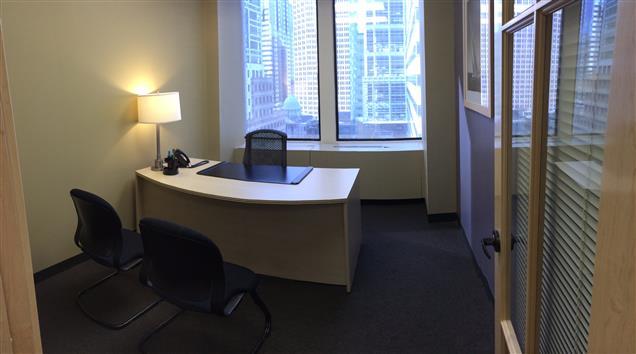 Intelligent Office Philadelphia - Private WINDOW Office #3