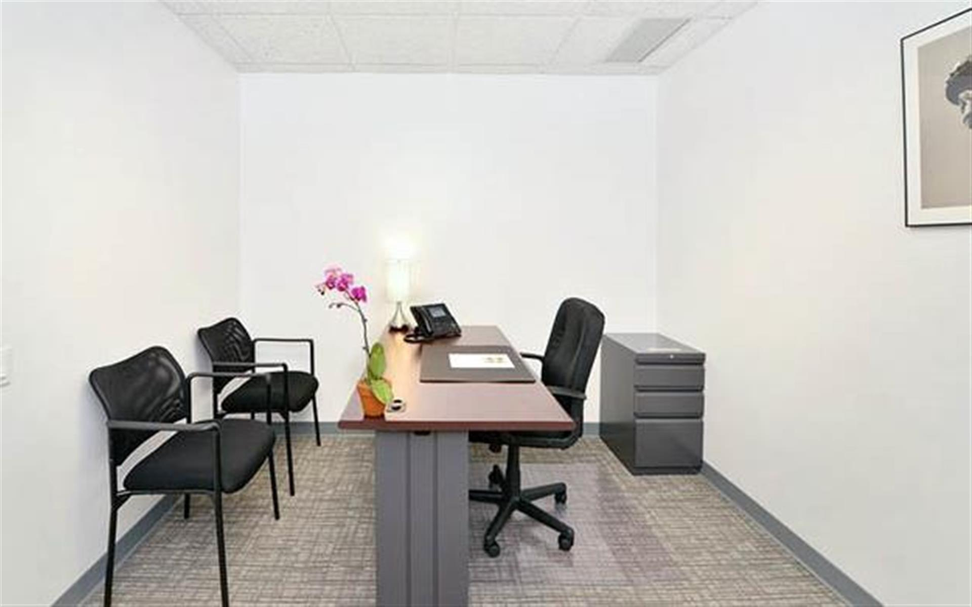 NYC Office Suites 733 (3rd Ave. & 45th) - Office 1500 Corner Office (6 Desks)