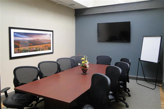 Boardroom Workplaces - LoDo/Union Station - Zephyr - Conf Rm (10 ppl)