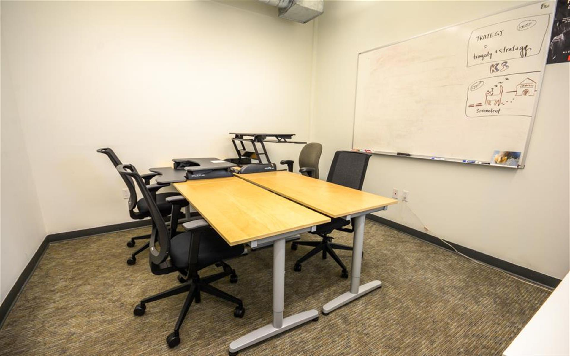 SOMAcentral | San Francisco (Townsend) - Team Space for 4