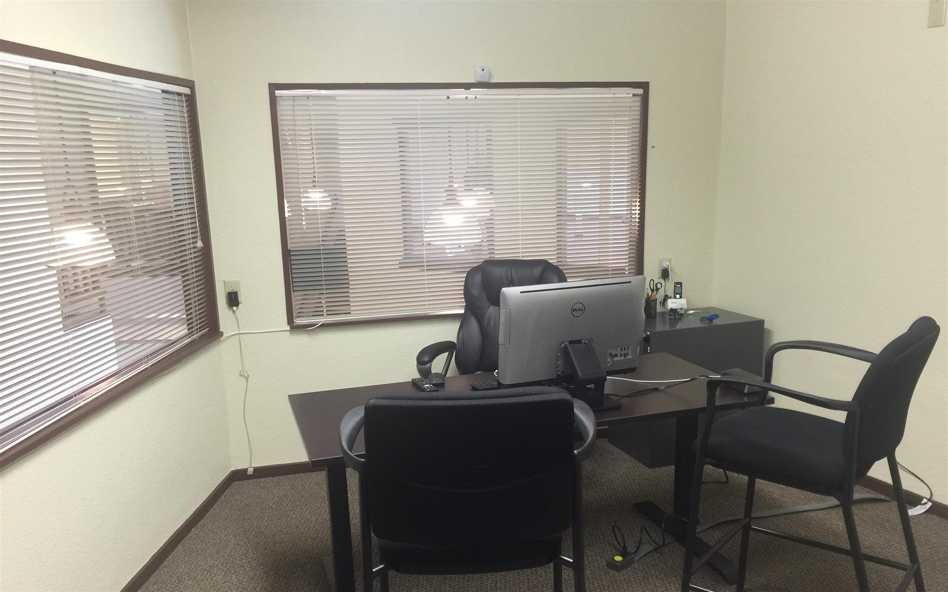 Clear Path Utility Solutions, LLC - Auburn private office and meeting room
