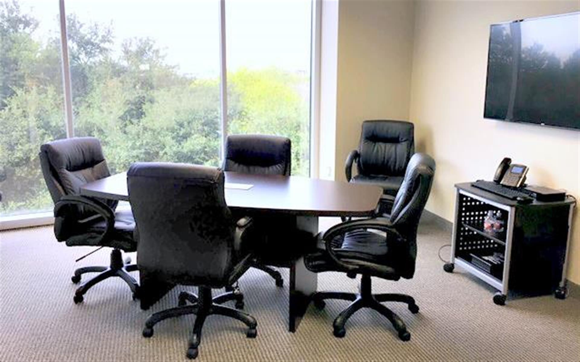CUBExec - Interchange Building Executive Suites - Small Conference Room