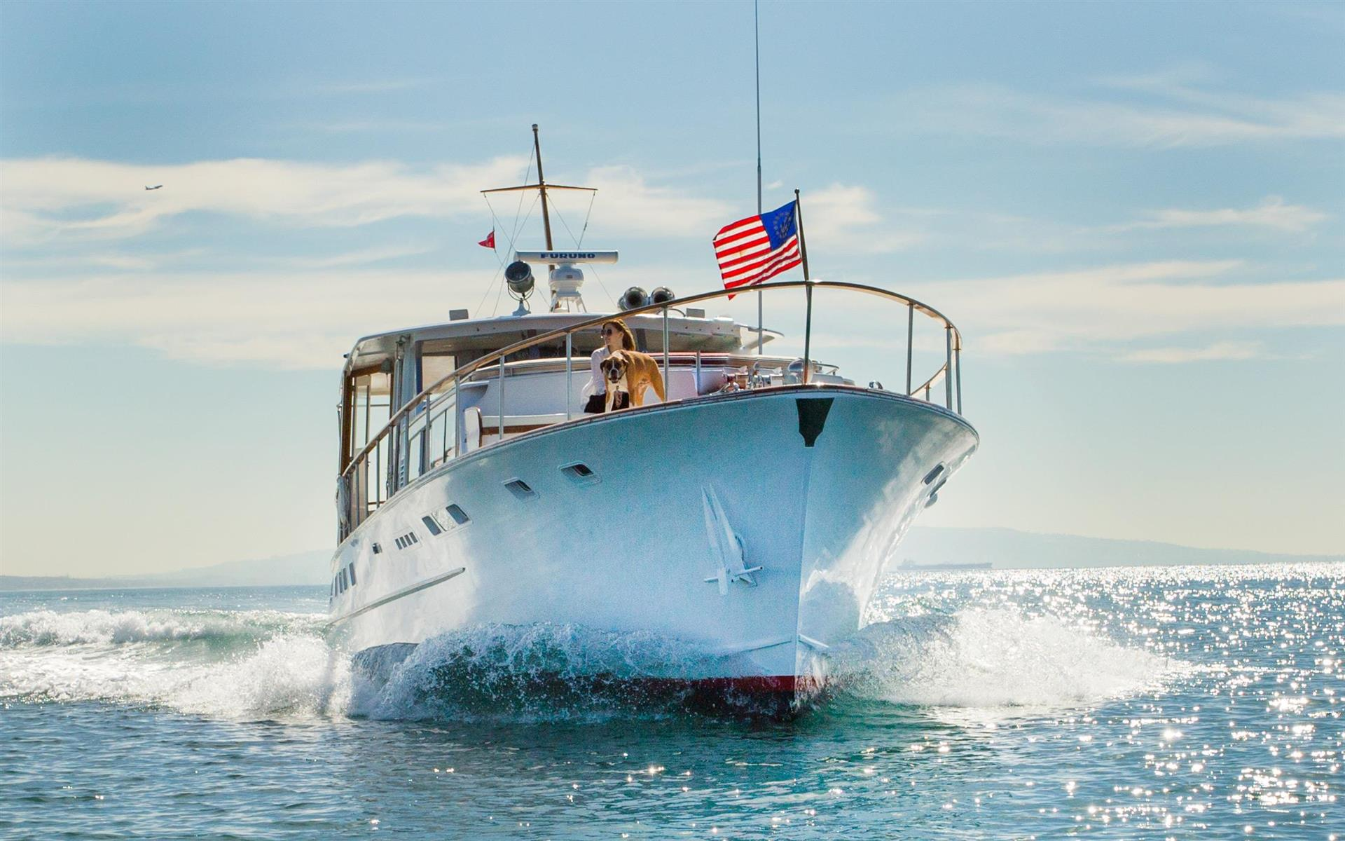 The Lone Ranger 2 - Classic 1960's yacht