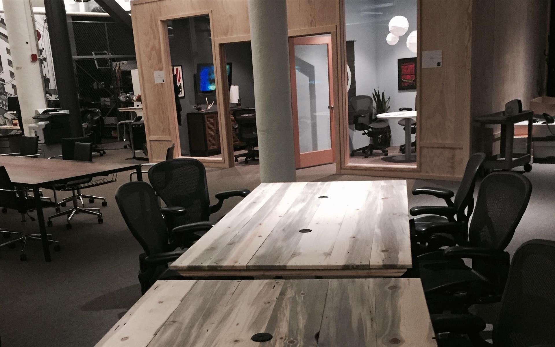 Say Media - Team Desks for 4