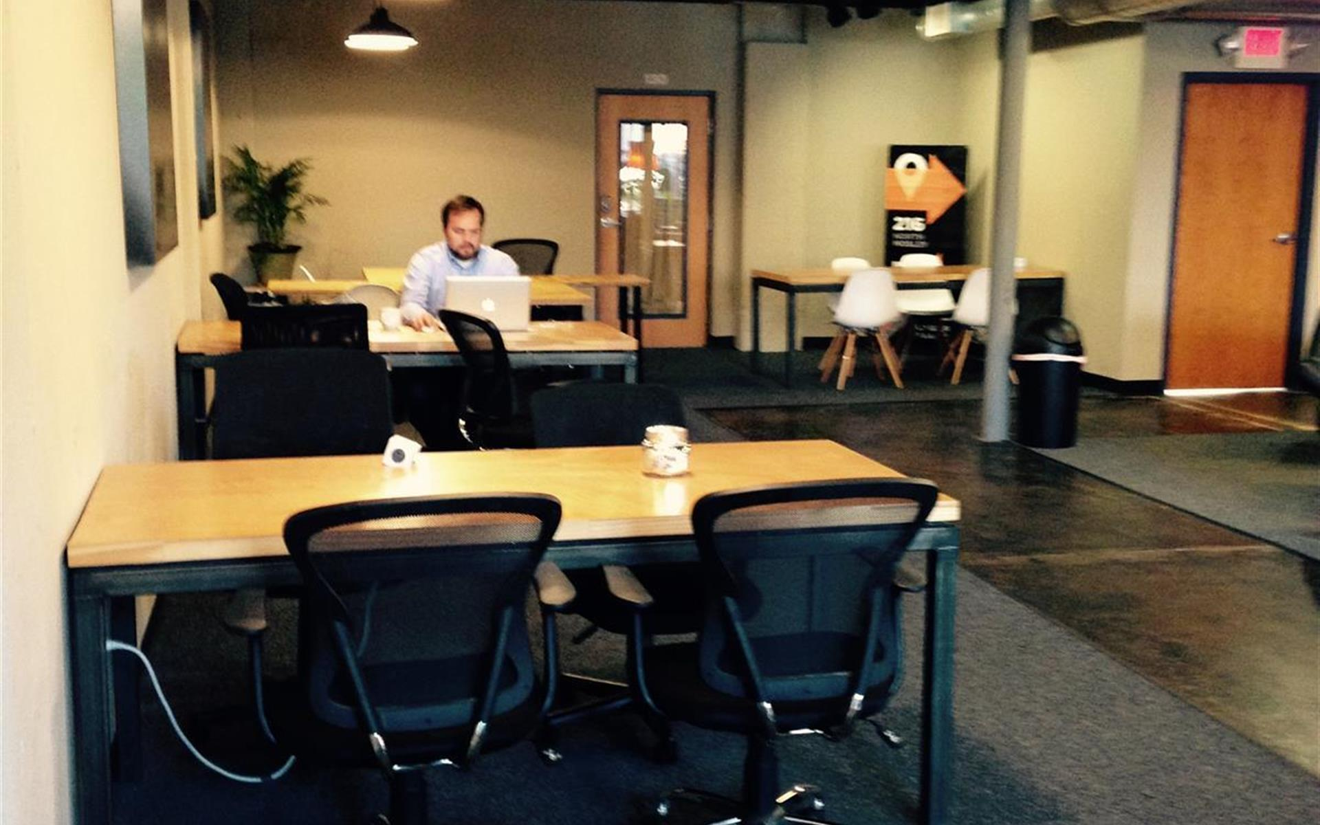 The Labor Party - Main floor coworking space