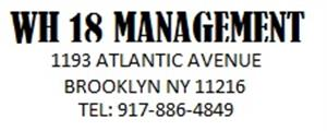 Logo of WH18 management - Brooklyn