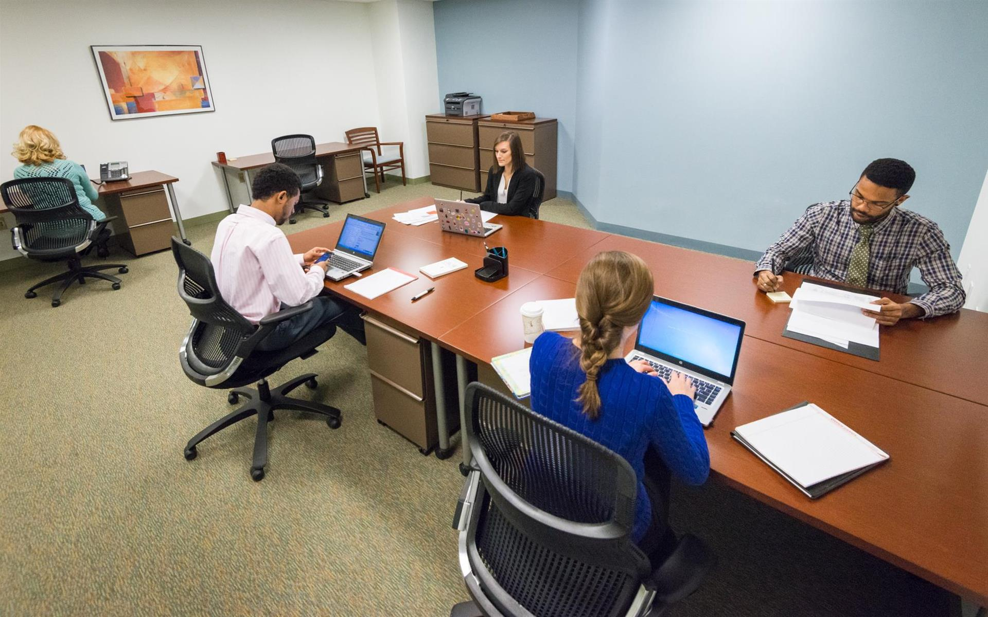 Carr Workplaces - Bethesda - Office 251 - Interior Team Room
