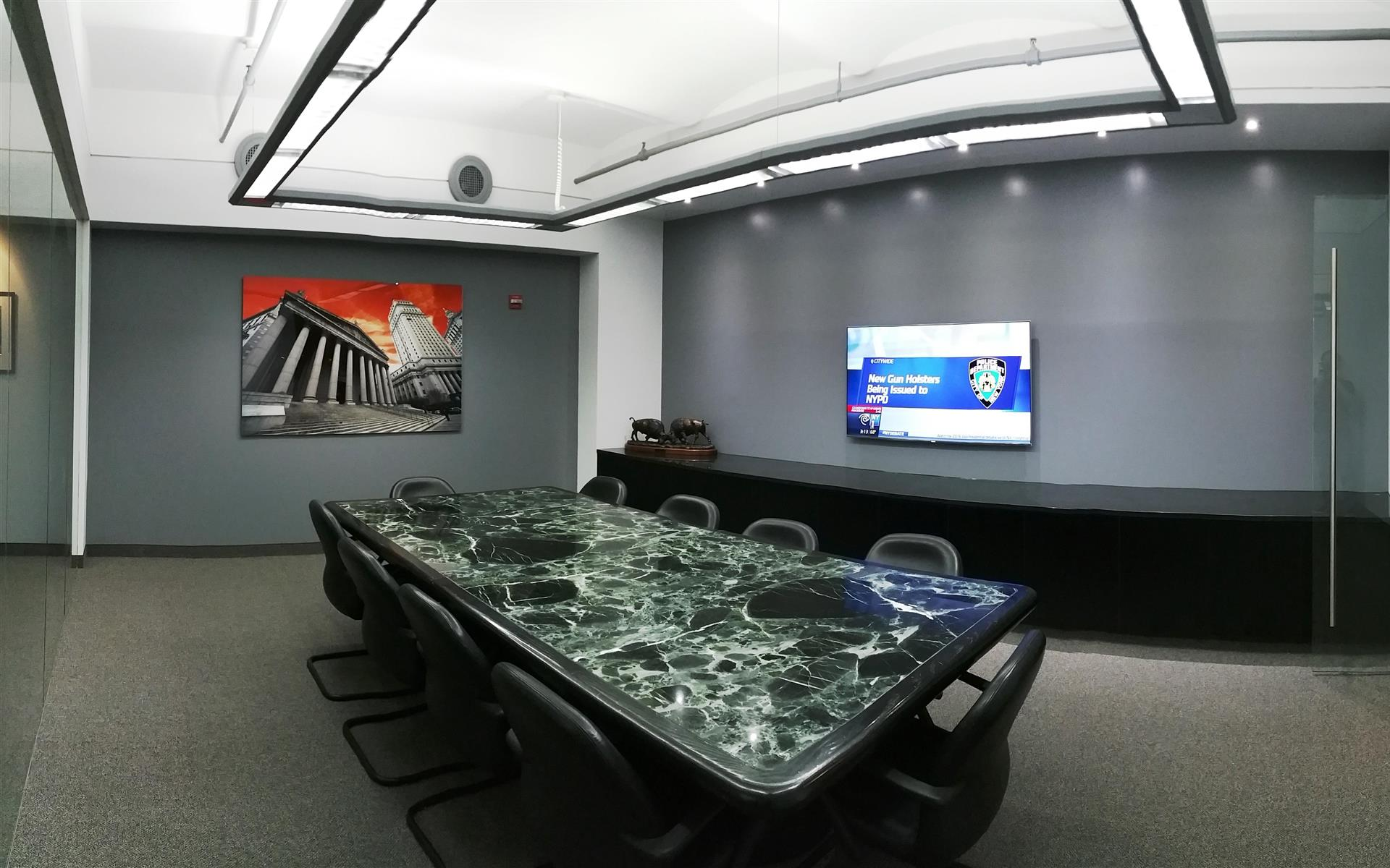 52 Duane Street - Glass Conference Room