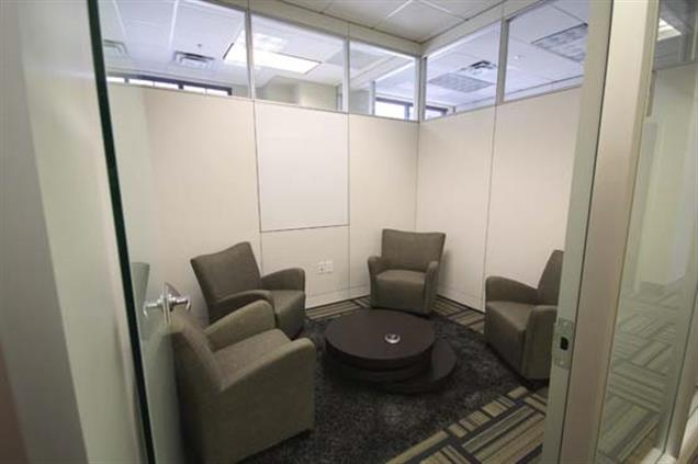 Byron Office Space Solutions-Downtown Greensboro - D) Casual Conference Room