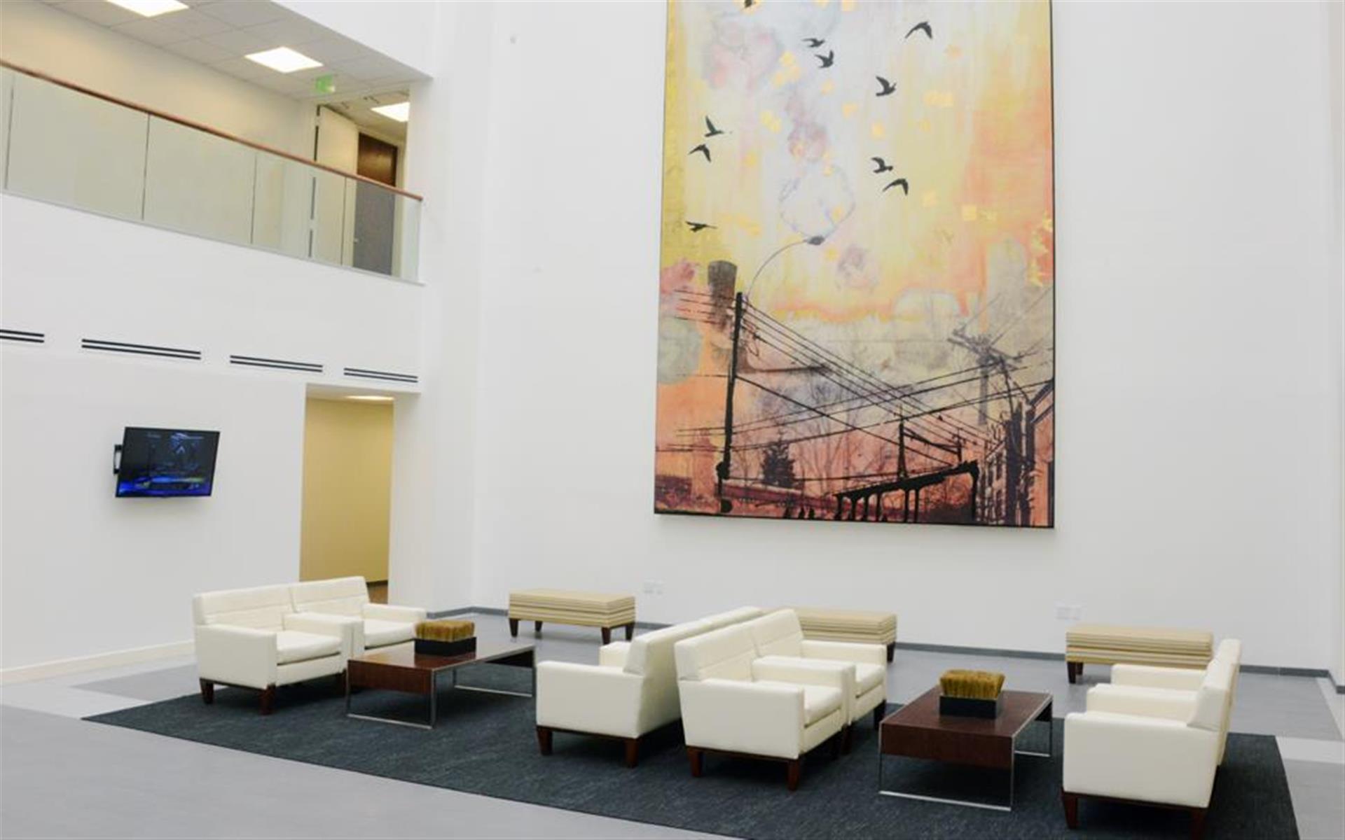 CORPORATE EXECUTIVE OFFICES - Atrium Meeting Space