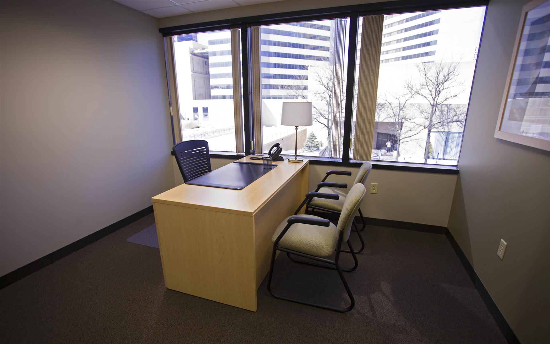 Intelligent Office - Columbus - Executive Suite Window Office