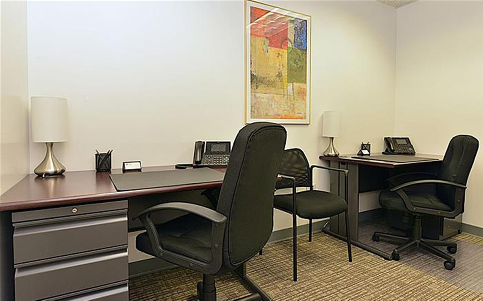 NYC Office Suites 733 (3rd Ave. & 45th) - Private Office 733 (2 Desks)