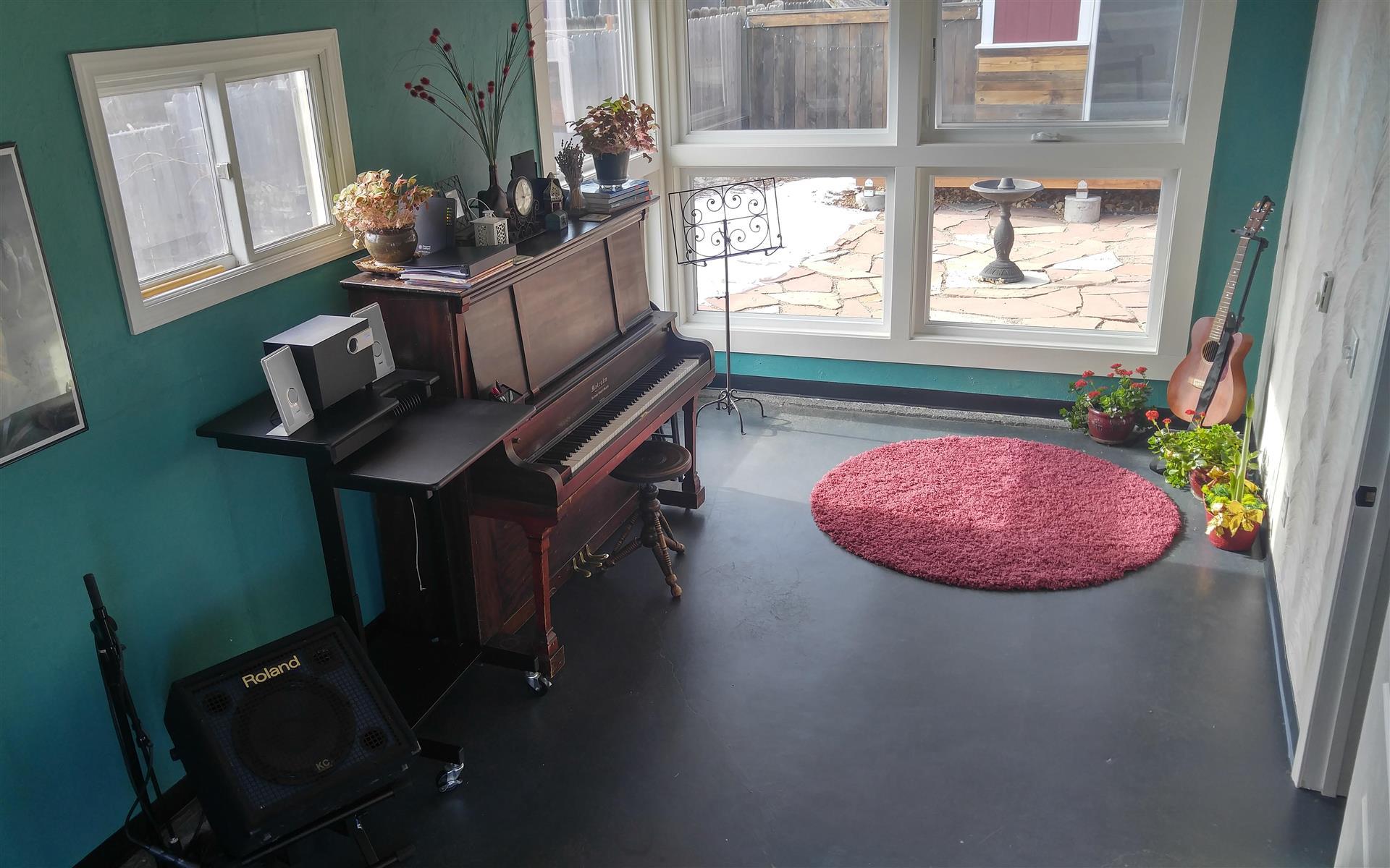 StudioK Music - StudioK Main Room   300 sq foot
