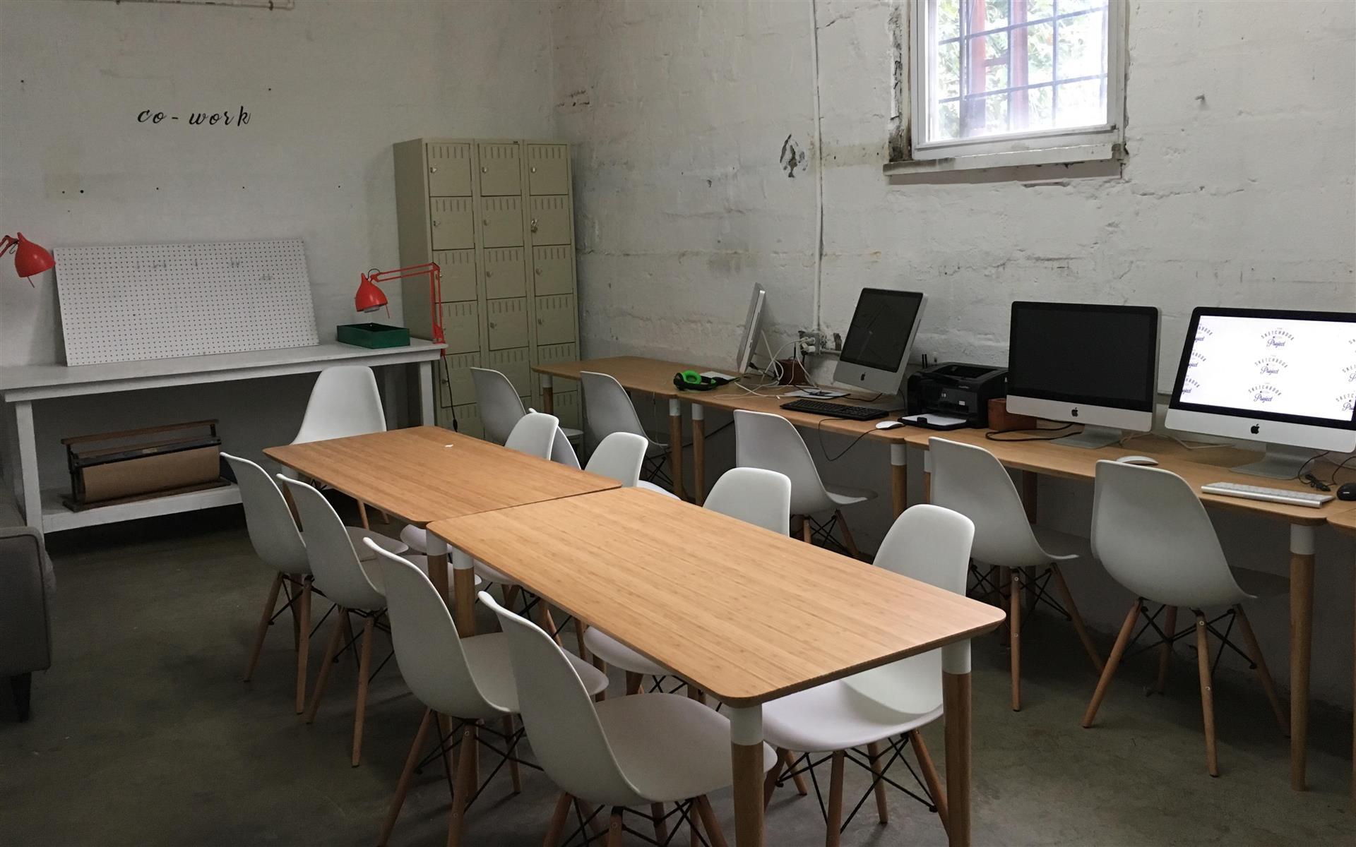 Brooklyn Art Library - Team Office Space in Sketchbook Library