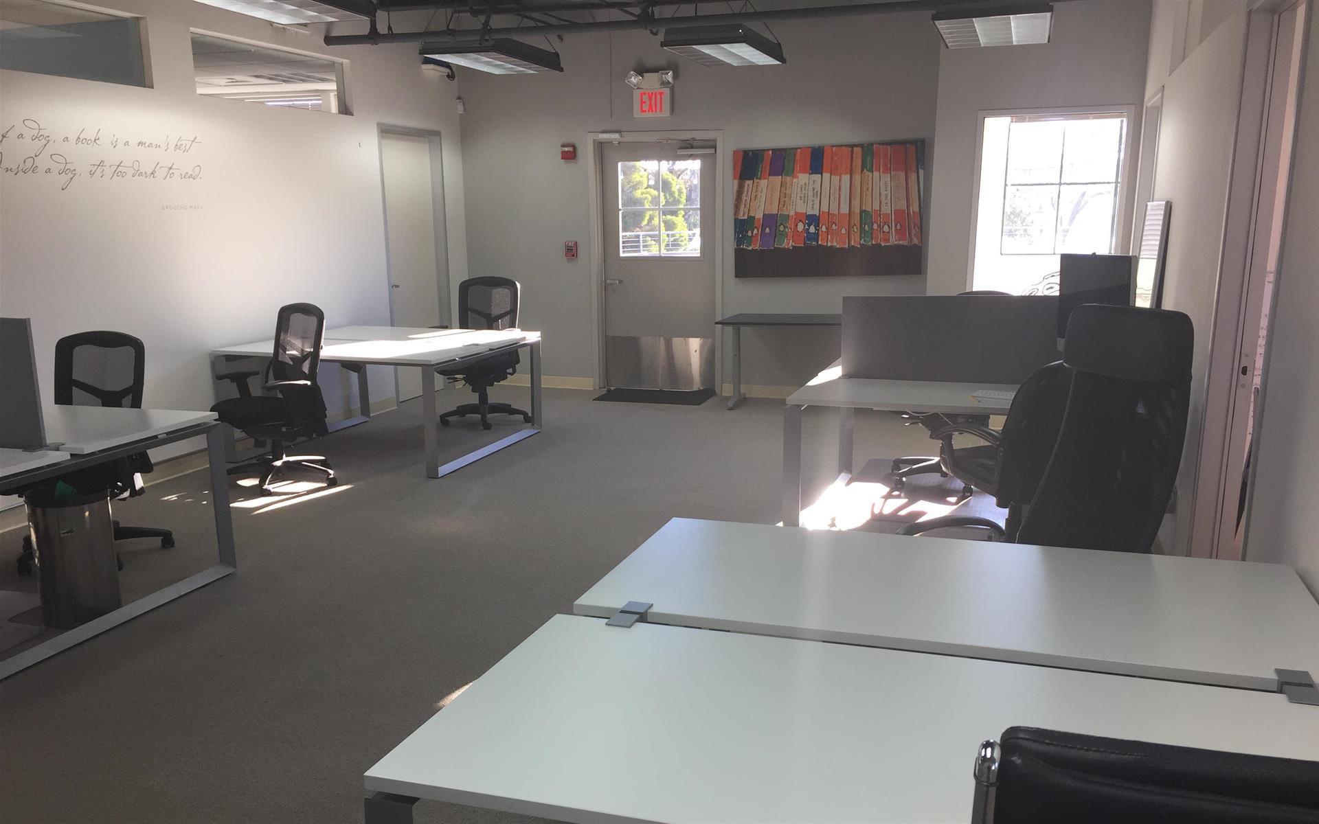 Metrodigi, Inc. - Desks in Open Workspace