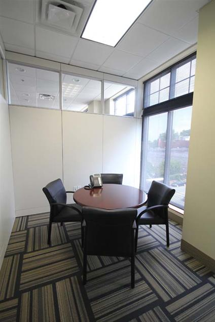 Byron Office Space Solutions-Downtown Greensboro - C) Small Conference Room