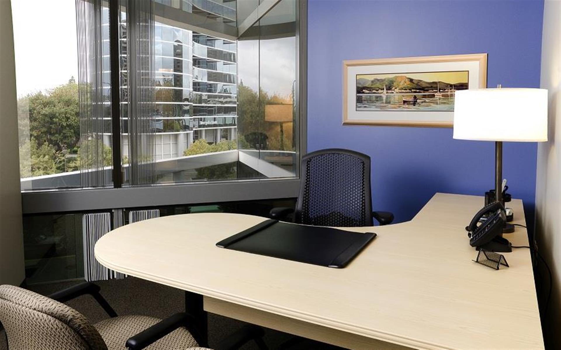 Intelligent Office of San Diego - Floor-to-Ceiling 2-window Office