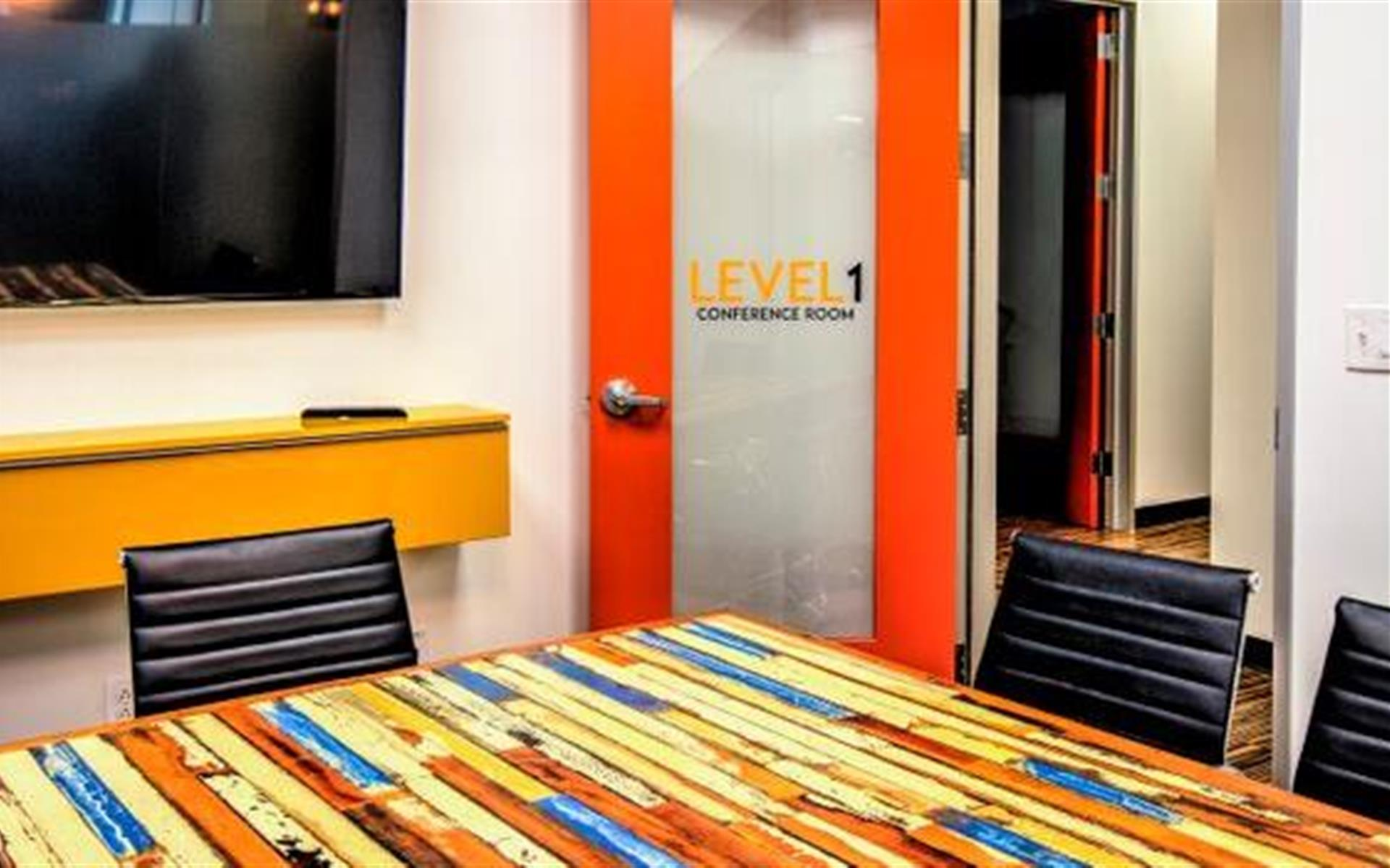 Level Office Charlotte - Conference Room- 1st Floor
