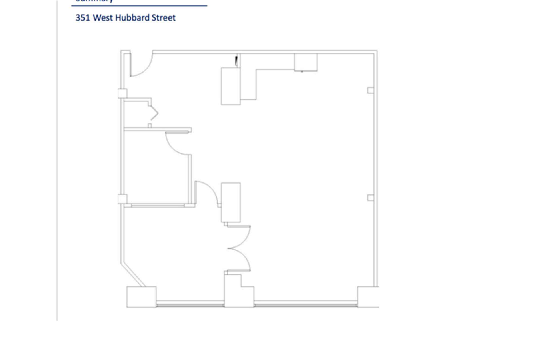 351 W Hubbard St - 3rd Floor