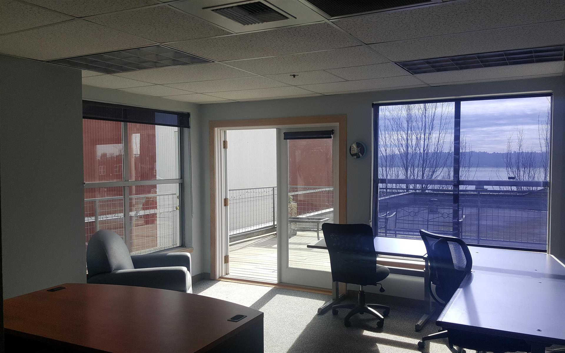 Bonsai Media Group - Huge Corner Office w/ Puget Sound Views!