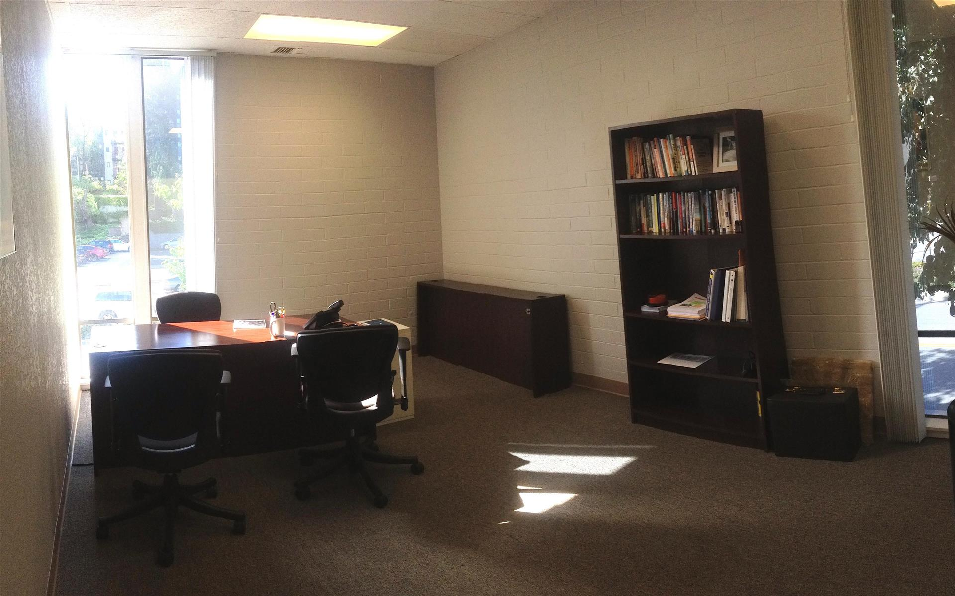 Real Wealth Network - Office #1: Sunny, large office