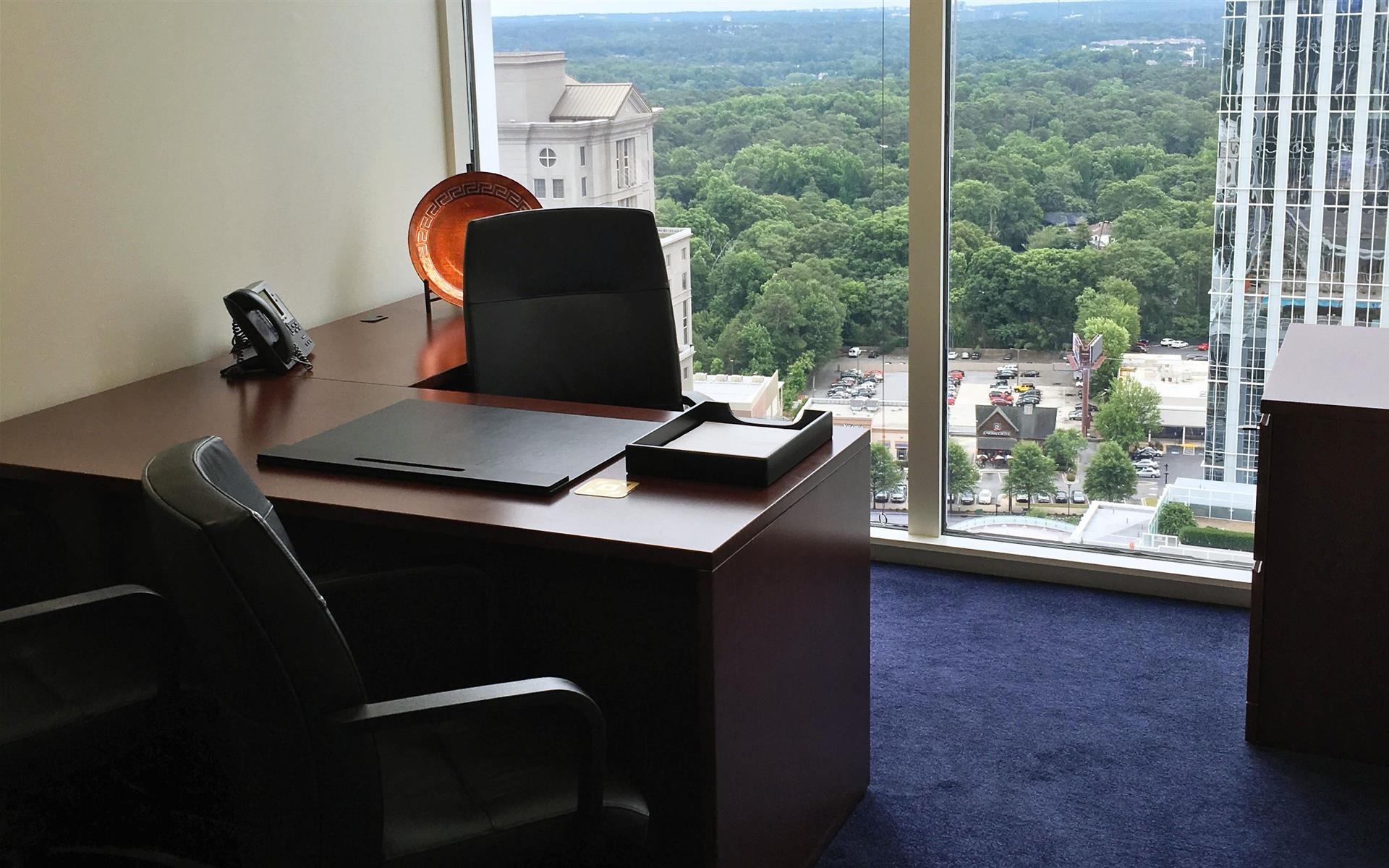 Servcorp - Atlanta Buckhead - Executive Private Office with Views!