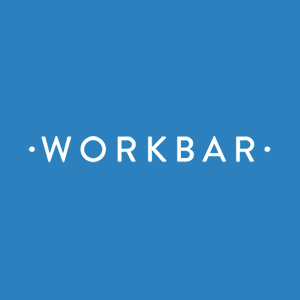 Logo of Workbar at Staples Brighton