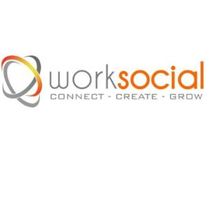 Logo of Worksocial | A Happiness Company