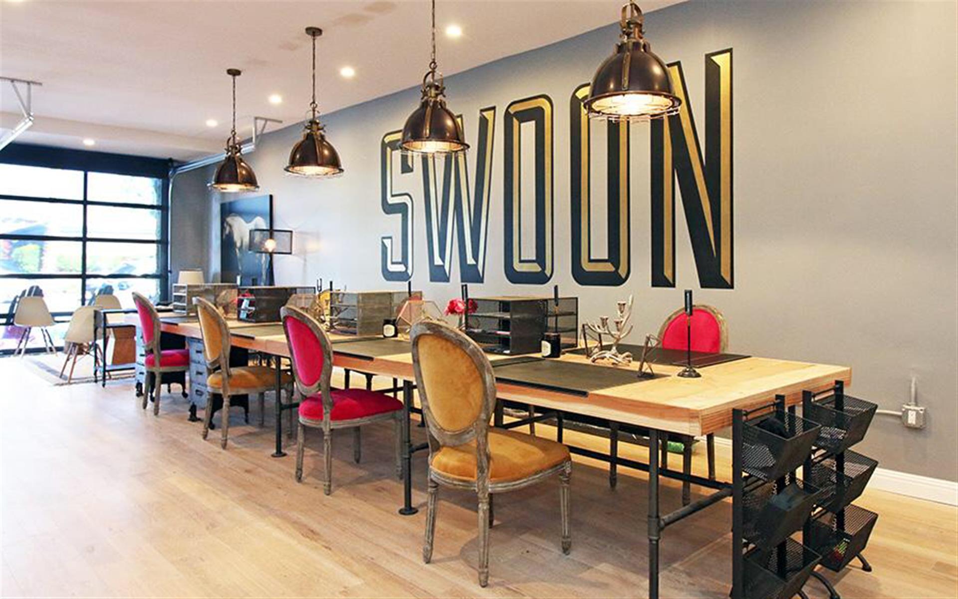 Swoon - Open Desks - Industrial Design Office