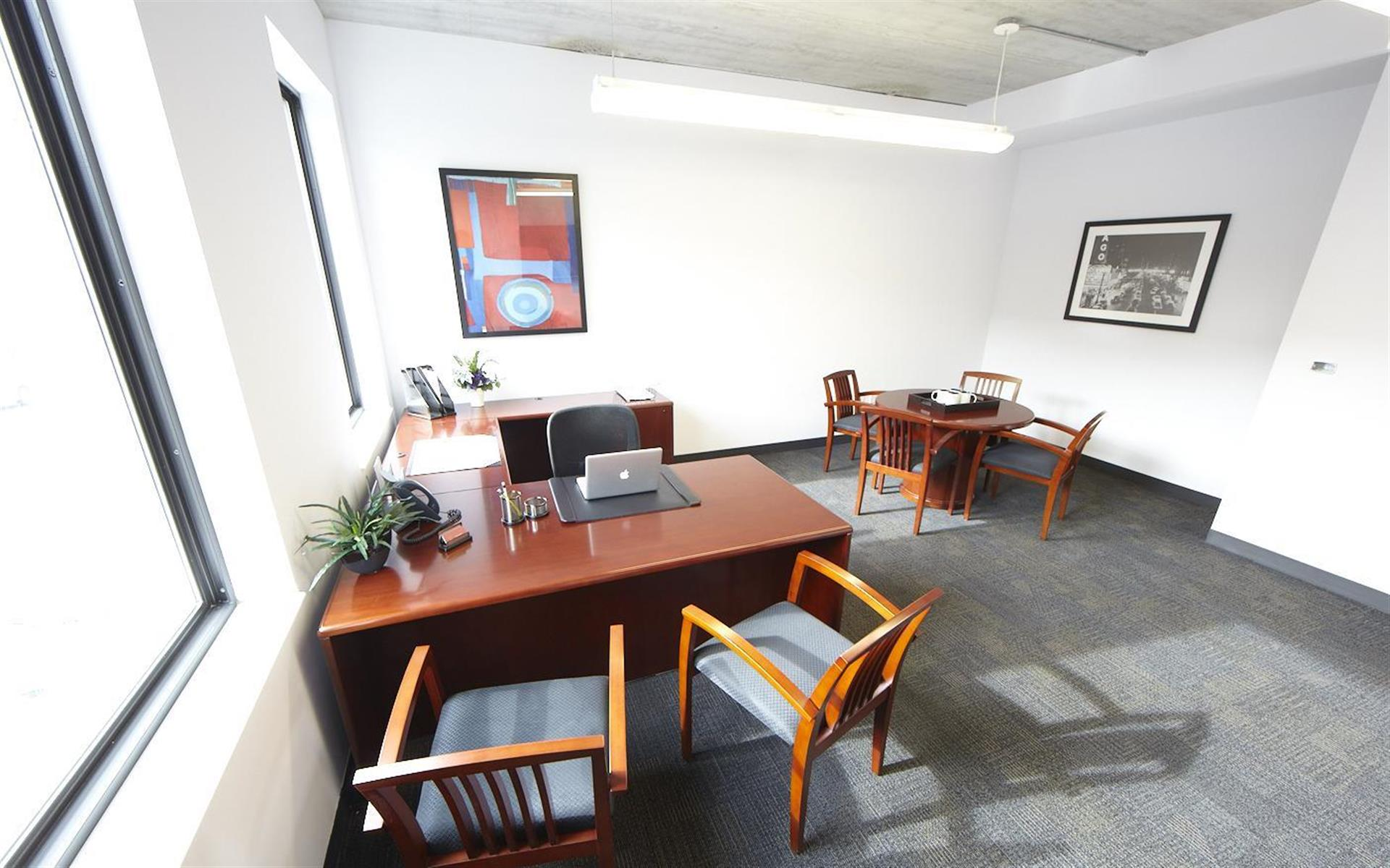 Inspire Business Center - Large Window Office