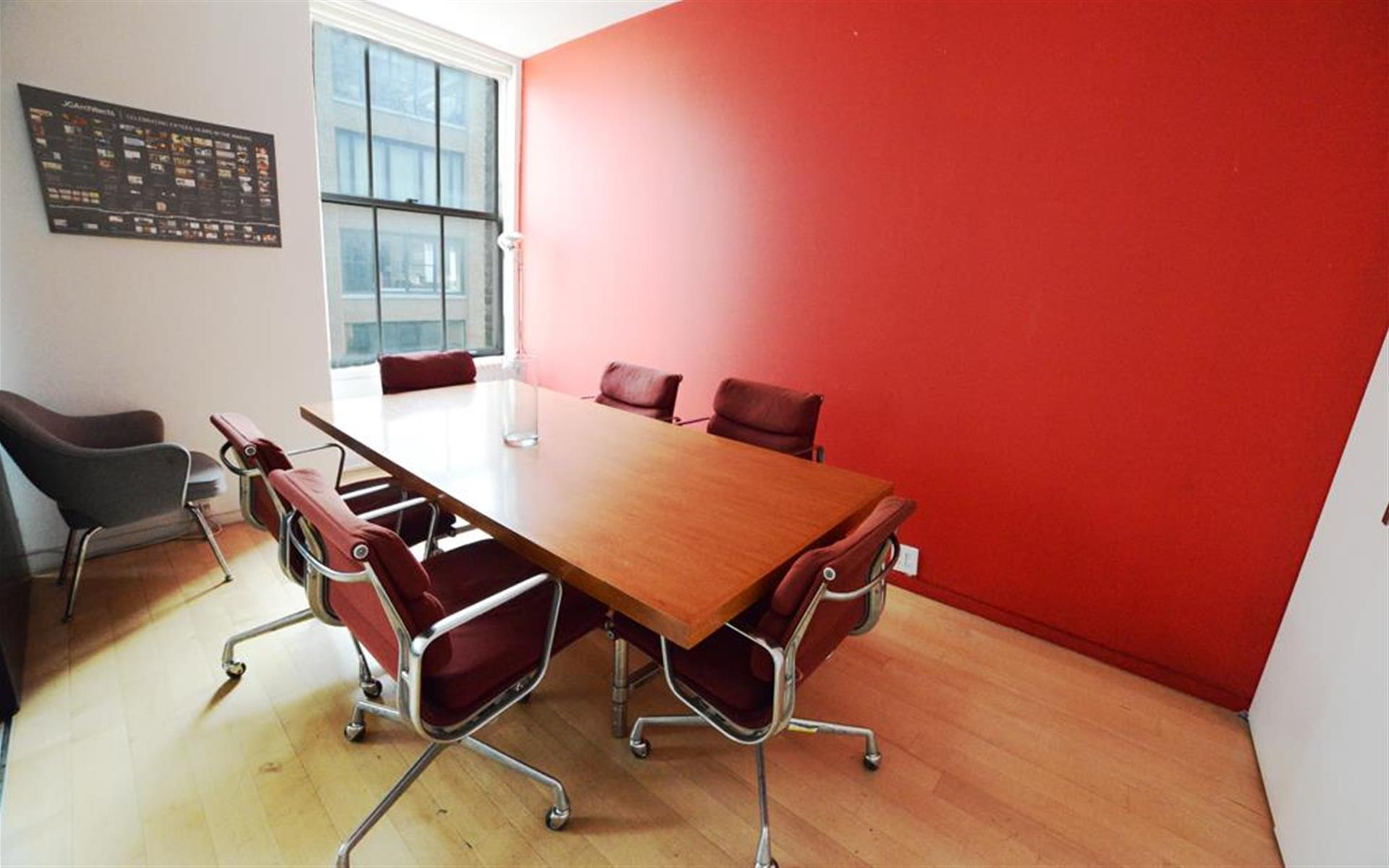 Architect's Office | Touchdown Space in Chelsea - Conference Room w Sliding Door