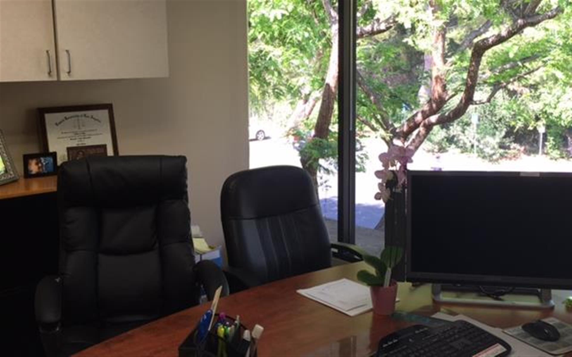 DCR Conference Center - Private office, massive windows